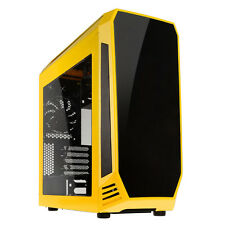 Bitfenix Aegis Core Micro-ATX Windowed USB 3.0 Gaming PC Case Chassis Yellow