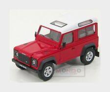 Land Rover Land Defender 90 1983 Red White HONGWELL 1:43 HG55280