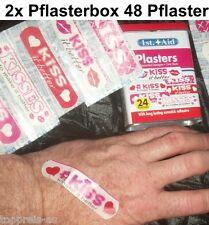 2x pflasterbox 48x Pansement Kiss It mieux Premiers Secours Boîte enfants