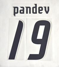 Set UFFICIALE NOME e NUMERO - PANDEV 19 - LAZIO Maglia Home stagione 2006/07