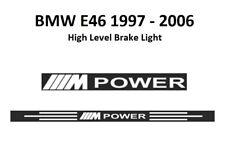 BMW E46 M-POWER 1997 - 2006  high level brake light DECAL sticker