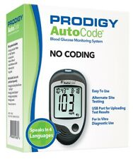 Prodigy AutoCode Talking Glucometer - Brand New - 4 Languages - Battery Included