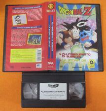 VHS film DRAGON BALL Z 10 All'inseguimento di bubbles Storia 2000 (F185) no dvd