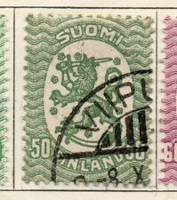 Finland 1921-26 Early Issue Fine Used 50p. 105524