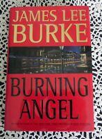 Burning Angel by James Lee Burke SIGNED 1st Edition 1st Printing Hardback