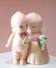 Rare Rose O'Neill Wedding Kewpie Japan Kato Kogei Discontinued Porcelain