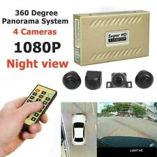 HD 360° Panorama System 4 Cameras 1080P Car DVR Recording Rearview Camera