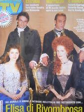 TV Sorrisi e Canzoni n°50 2003 Natalia Estrada Debora Caprioglio R. Capua [D11]