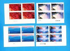 USA - Scott C133 & C139-C141 - VFMNH S/A Plate Blocks -