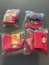 2018 Mcdonalds Shopkins Happy Places Happy Meal Toys Set Of 4