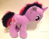 My Little Pony Purple Pink Plush Doll Twilight Sparkle Unicorn