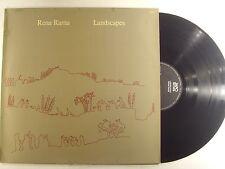 rena rama lp landscapes  japo 60020 GERMAN IMP     vg+/m-