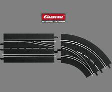 Carrera Digital 132 / 124 Lane Change Curve Right Exterior to Interior 30365
