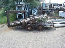 100 + year old Rail Carts