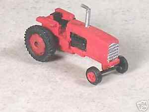N Scale Red International Tractor