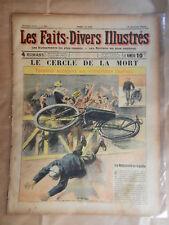 Les Faits-Divers Illustrés. 18 octobre 1906. N°52 : Le cercle de la mort.