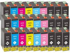 27x XXL Tinten Patronen für Epson Stylus Photo R3000 mit Chip Kompatibel