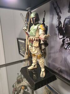 star wars return of the jedi gentle giant boba fett statue