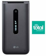 """Brand New - LG Classic Flip 4G LTE Cell Phone - """"Total Wireless"""""""