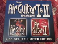 THE BEST AIR GUITAR ALBUM IN THE WORLD 1 & 2 (4 CD) Deluxe Limited POST FREE
