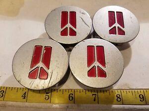 (4) OLDSMOBILE WHEEL CENTER CAPS #10207641 {HC107}