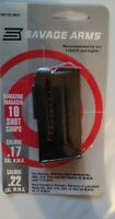 Savage Arms Model 93 Series 10 Round Magazine 17hmr / 22mag 10rd Mag 90010 - NEW