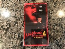 A Nightmare On Elm Street 4 The Dream Master New Sealed Vhs!