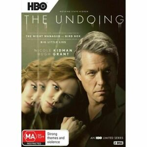 The Undoing Nicole Kidman Hugh Grant BRAND NEW HBO Limited Series R4 DVD