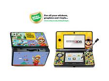 Super Mario Maker Vinyle Peau Sticker Pour Nintendo 3 DS