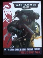 WARHAMMER 40000 40K 3 BOOK SET HARD COVER RULES DARK MILLENIUM A GALAXY OF WAR