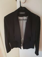 Basque City sz 14 Black Dress/ Suit Style Blazer Jacket AS NEW