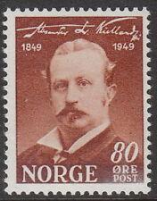 Stamp Norway Sc 0297 1949 Alexander Kielland Author Birth Centennial Norge MNH