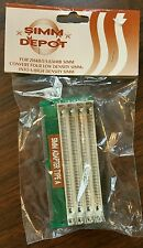 Vintage 72 pin to 30 pin Converter Memory Expander SIMM Adapter Type A Low NEW