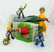 2003 Playskool Major Powers STAR FORTRESS HEADQUARTERS Playset and 3 Figures