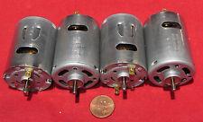4 pcs Dual Shaft Mabuchi Motor RS-540SH-32105 12VDC 5820 RPM Robot Vacuum Torque