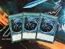 Yugioh! 3x Mystical Space Typhoon - Common