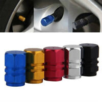 2xAluminium Bicycle Bike Wheel Tyre Presta Valve Cap French Anodized Dus-Gift