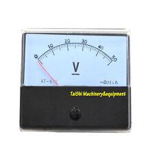 NEW DC 0-50V Analog Volt Voltage Panel Meter Voltmeter Gauge