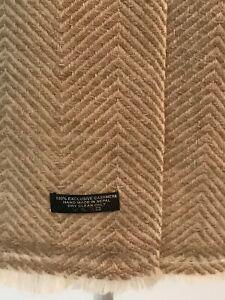Exclusive Cashmere wool winter warm & soft Hand Made scarves/muffler men/women