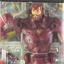 Marvel Legends Icons IRON MAN Tony Stark NEW IN BOX Gold Variant TOY BIZ 2006