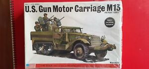 US Motor carriage M13 with AA mount in 1/48 scale by Bandai/Fuman