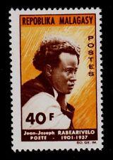 MALAGASY REPUBLIC   SCOTT# 368  MNH   JEAN JOSEPH RABEARIVELO