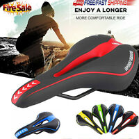 Bicycle Bike Cycle MTB Saddle Road Mountain Gel Pad Sports Soft Cushion Seat HOT