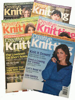 Creative Knitting 6 magazines from 2008