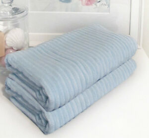 Free domestic shipping,  Two Bamboo bath towels