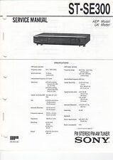 SONY - ST-SE300 - Service Manual - B2925