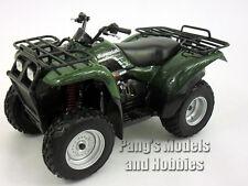 Kawasaki Prairie 400 ATV Quad 1/12 Scale Diecast Metal and Plastic Model - GREEN