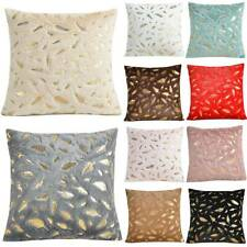 Feather Cushion Cover Soft Luxury Sofa Decor Throw Pillow Cases Home Decoration