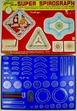 *** Vintage 1969 Kenner Super Spirograph 2400- COMPLETE! GREAT CONDITION! ***
