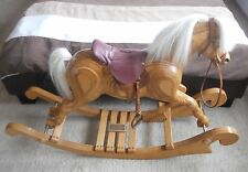 wooden rocking horse Judy Fergusson design Excellent condition